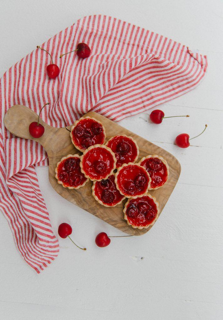 Mini Cherry Tarts