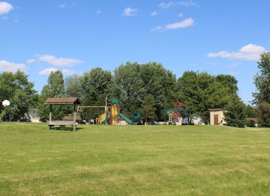 Playground on Somonauk side