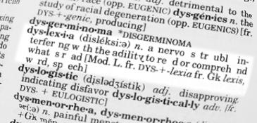 Dyslexia definition extra small