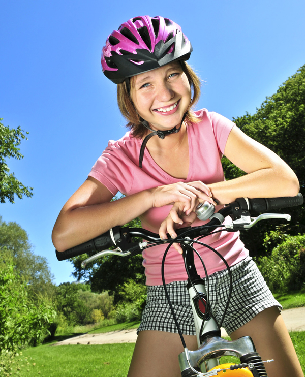 Girl with Helmet small