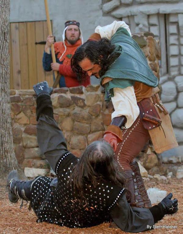 Robin Hood Besting the Sherriff