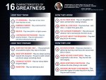 The 16 Characteristics Of Greatness