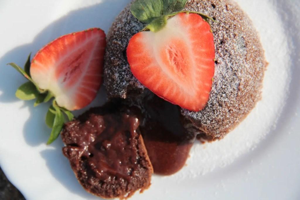 Valentine's Day Mota Lava Cake Recipe