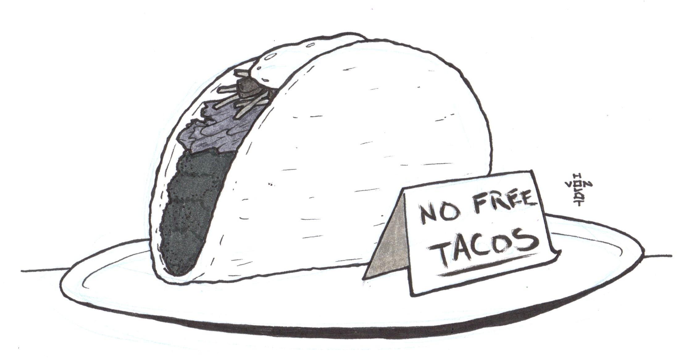 Doodle 781 No Free Tacos