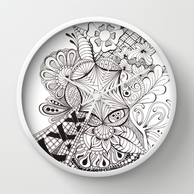 Wall clock http://society6.com/HeidiDenney/Burst-LyT_Wall-Clock#33=283&34=286