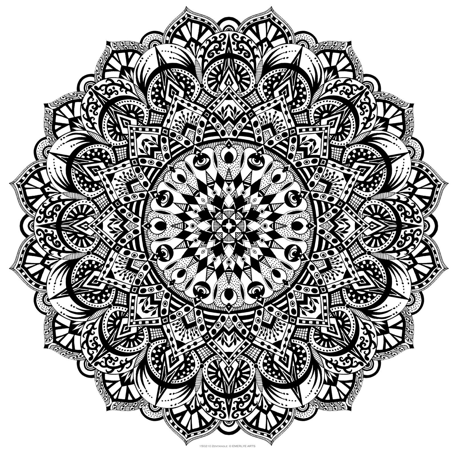 benefits of making zentangle art doodle art club