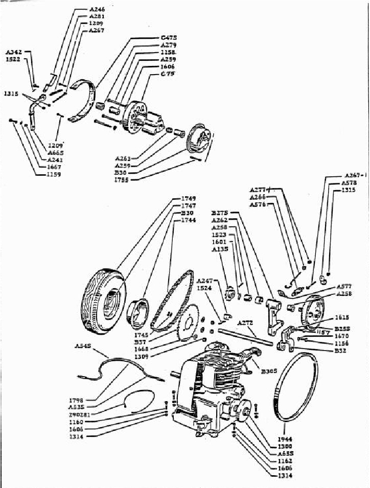 Willys F Head Engine Diagram