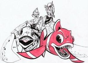 Evil-Fish-On-The-Run