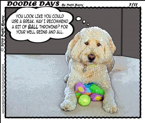 Doodle Days 7-11-16 ball break
