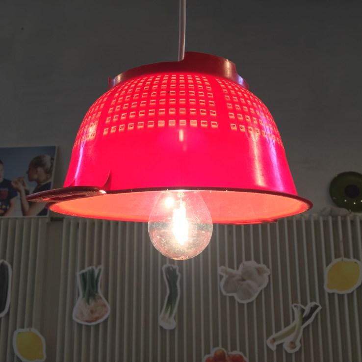 Lampe lavet af si