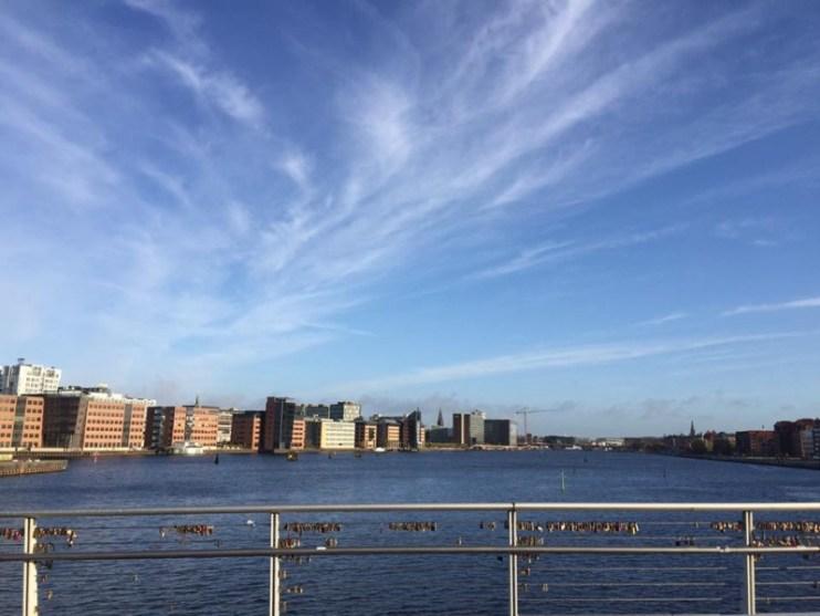 København en smuk novembermorgen