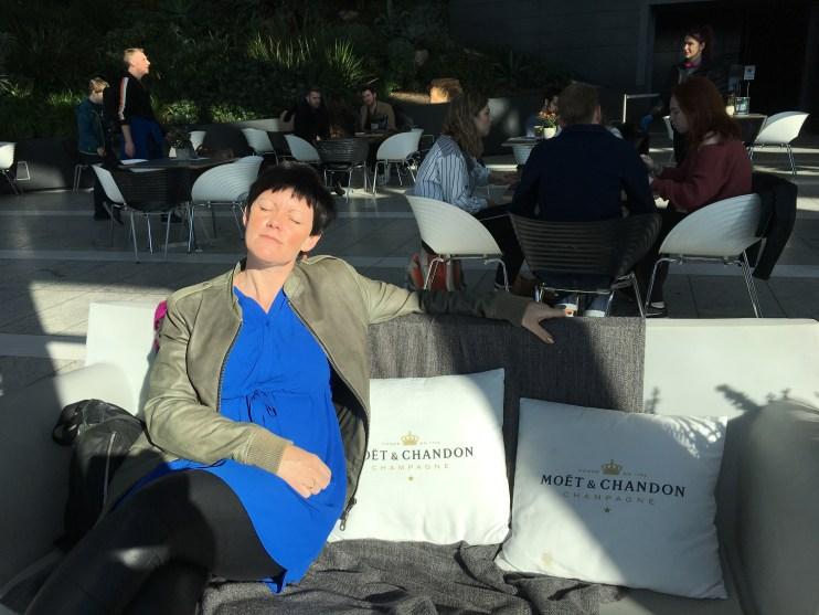 Mig i Sky Garden i London