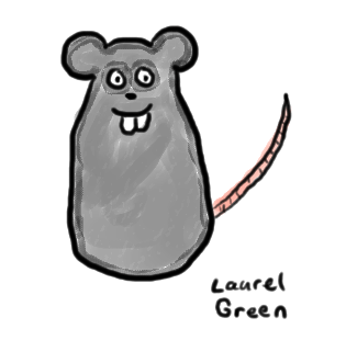 a drawing of a mouse