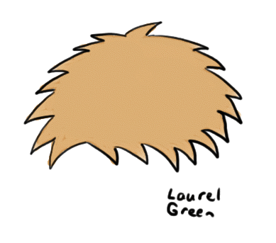 a drawing of a tribble