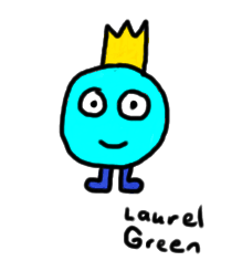 a drawing of a creature with a crown