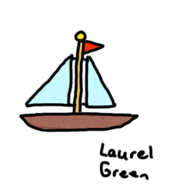 a drawing of a sailboat