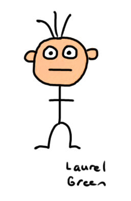 a drawing of a guy with a skinny body