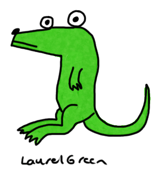 a drawing of a lizard and dog hybrid