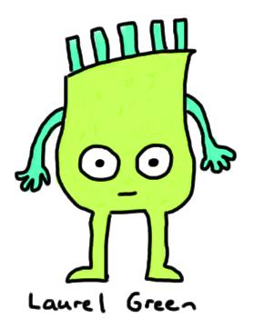 a drawing of gerry burt