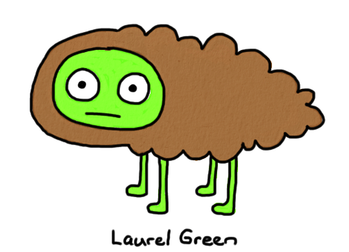 a drawing of a sheep made of poo