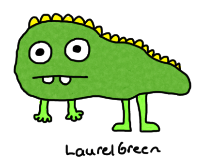 a drawing of a derpy dinosaur