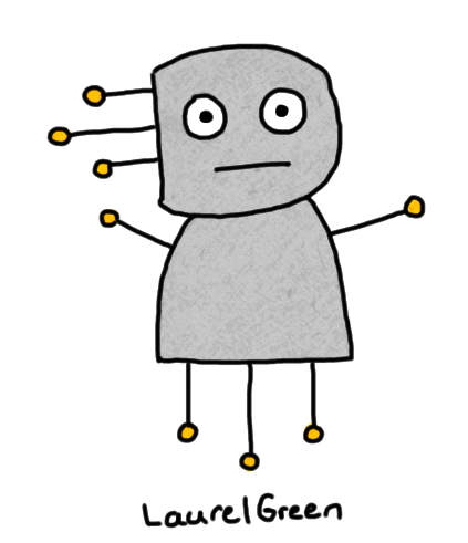 a drawing of a grey thingy