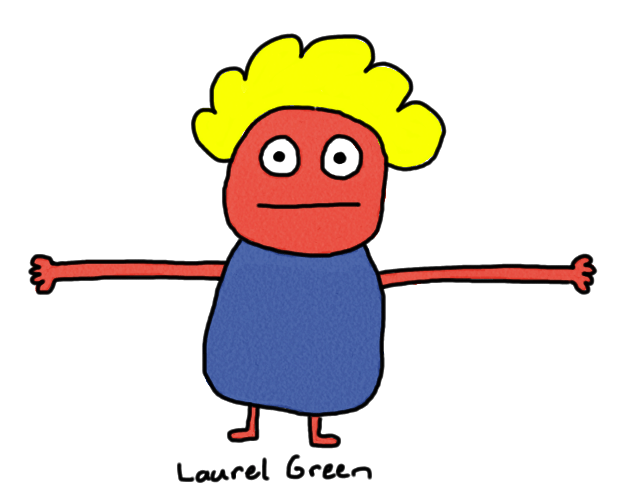 a drawing of a creature with long arms for hugging