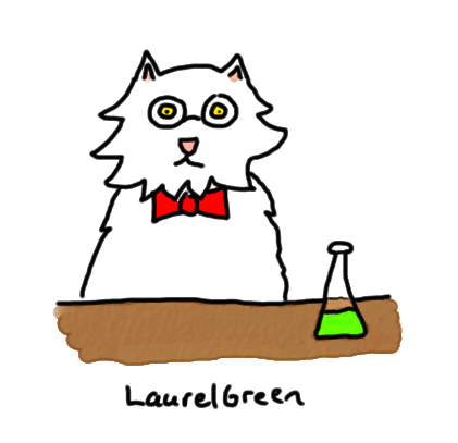 a drawing of a cat wearing glasses and a bow tie