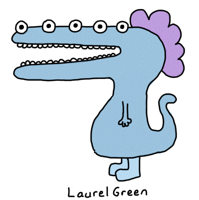 a drawing of a mutant dinosaur thing