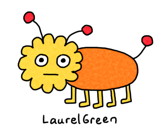 a drawing of a stupid bug thing
