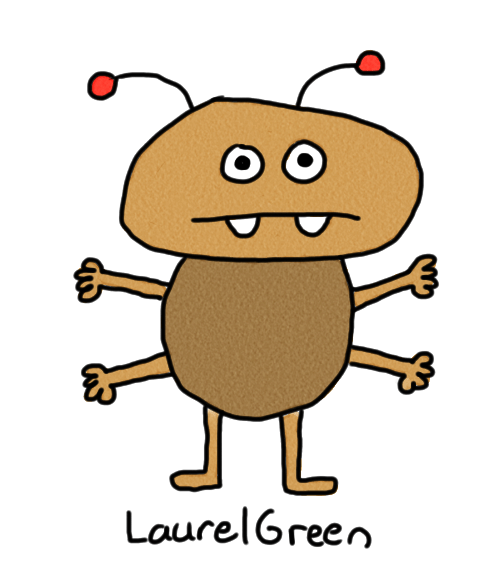 a drawing of a bug