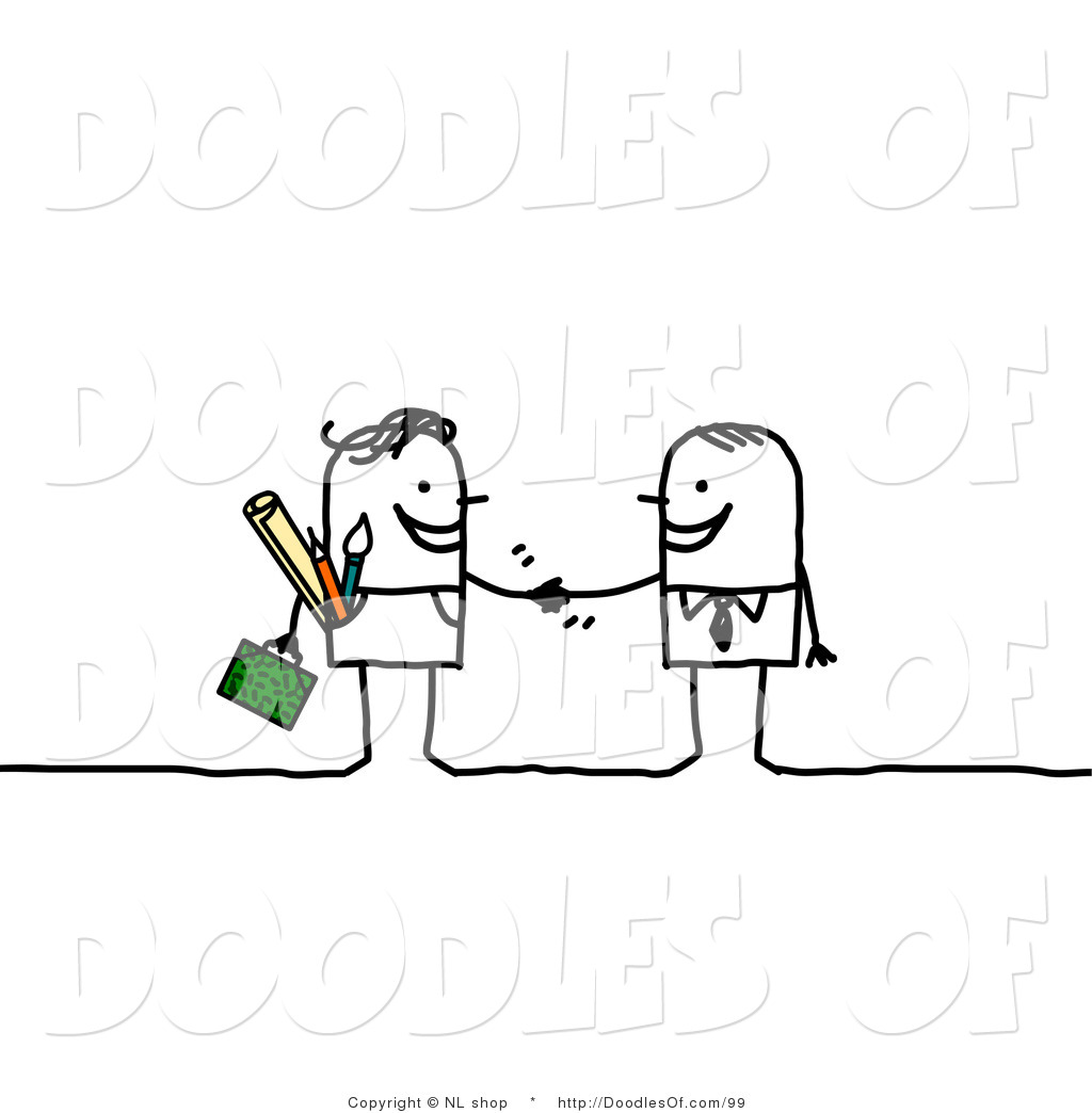 Royalty Free Teamwork Stock Doodle Designs