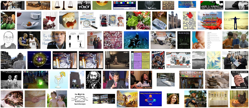 Screenshot of Google Image Search Results for Human Beings