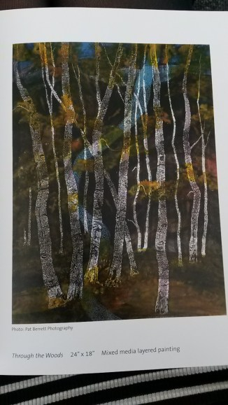Naturalist Colour Pallet: Mary Carol Nelson, Through the Woods