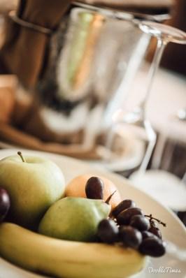 Früchteteller zur Begrüßung