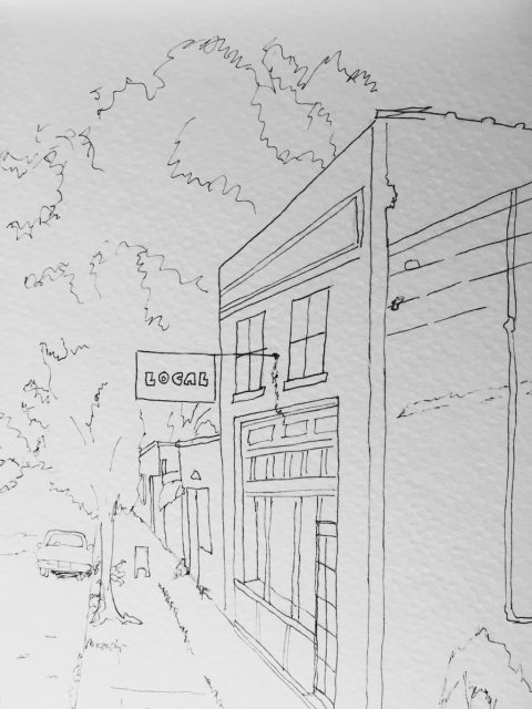 Westside Kansas City Urban Sketchers Doodlewash
