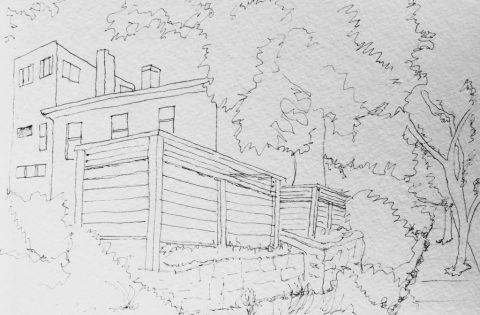 House Kansas City Urban Sketchers Doodlewash