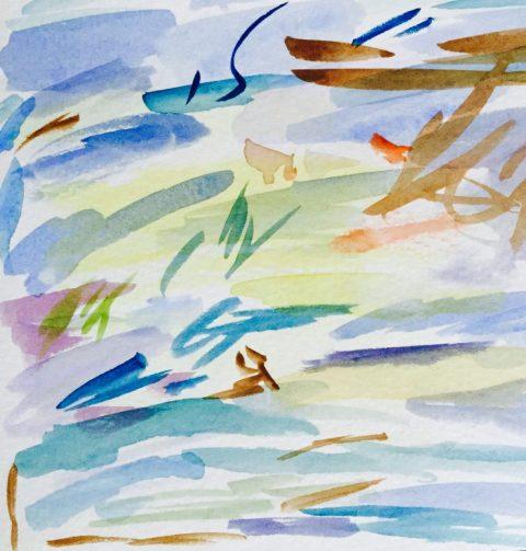 Watercolor Swatch Test Art Doodlewash