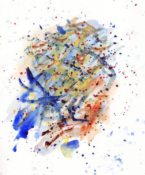 Not Abstract Watercolor Doodlewash