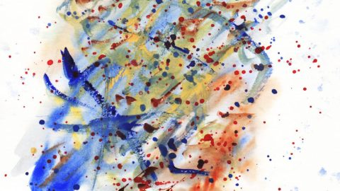 Not Abstract Watercolor Doodlewash