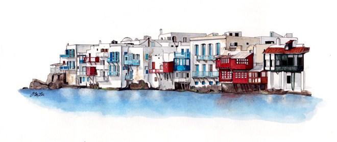 Little Venice by Esther BeLer Wodrich