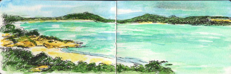 Corsica Sketch