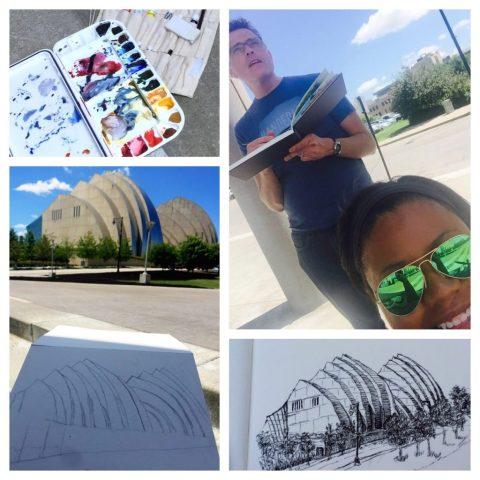 Kansas City Urban Sketchers Kauffman Center