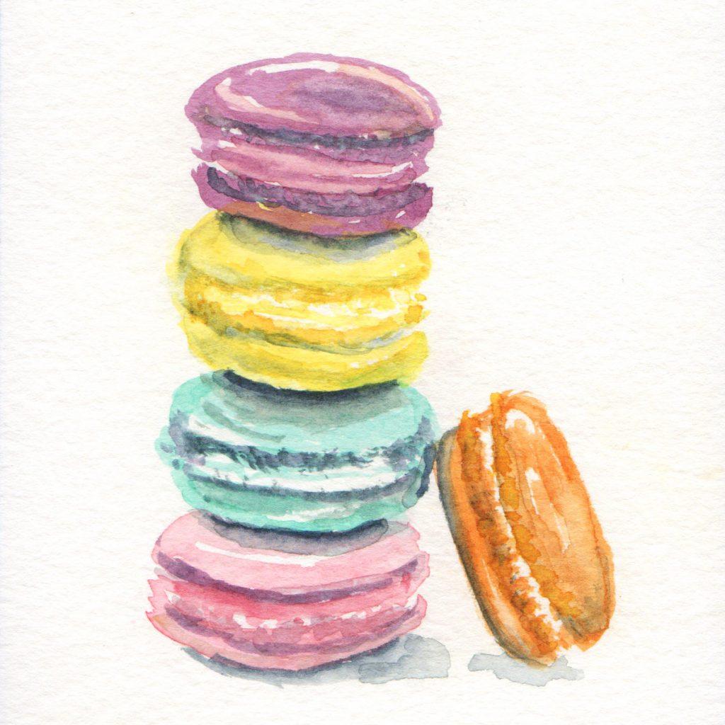 Macarons in Doodlewash