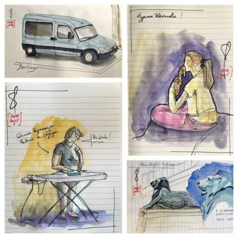 Sketch Your Life by Pascal Drai