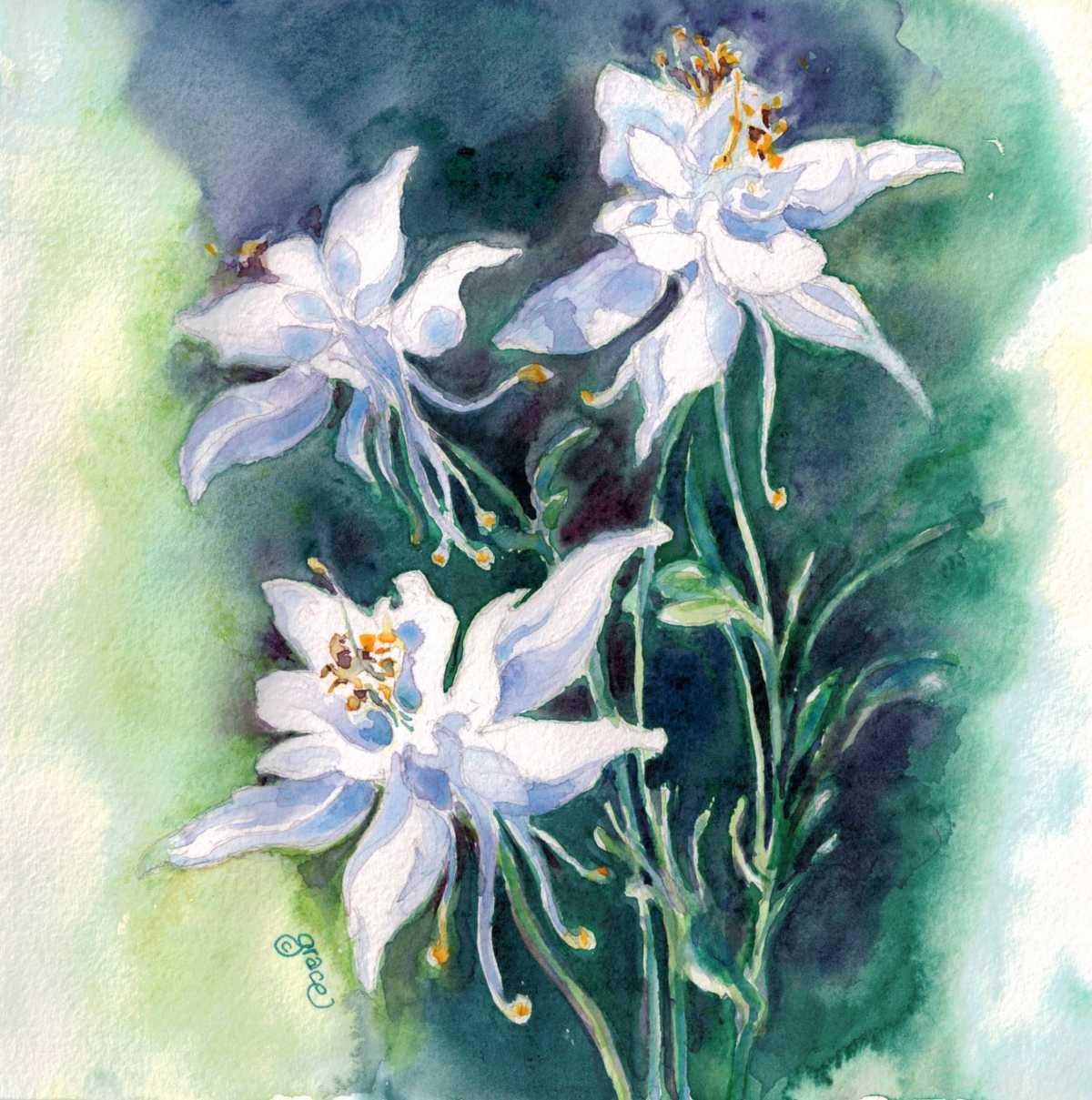 Wildflowers by Grace Yvonne Millette