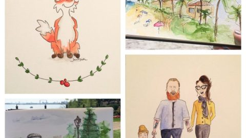 Doodlewashes by Sam Nielsen