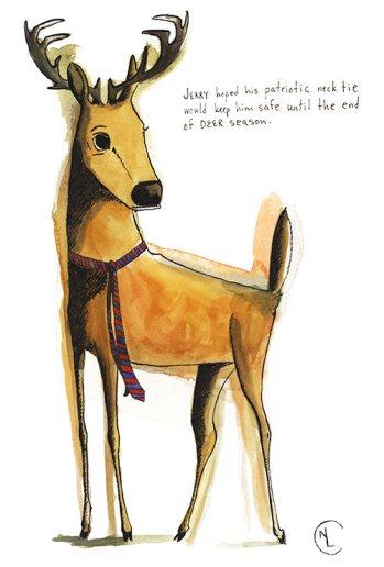 Jerry the Deer by Nancy Lemon
