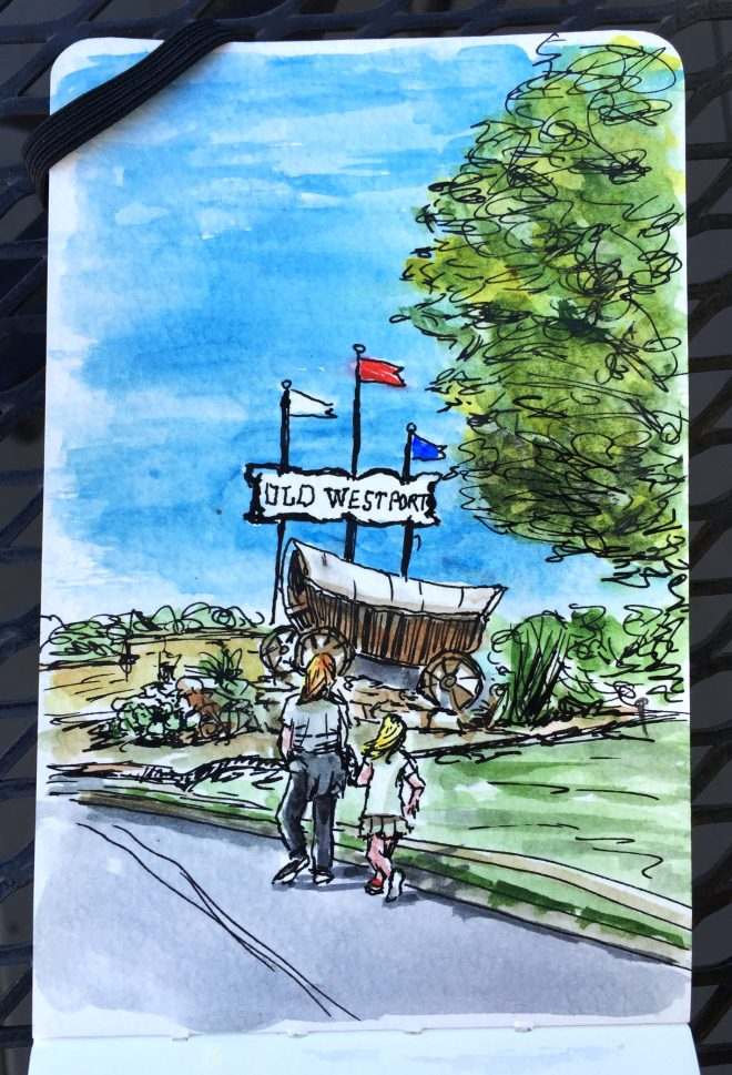 Old Westport by Charlie O'Shields
