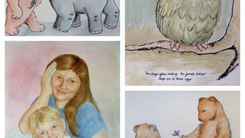 Watercolor Paintings by Teresa Robeson
